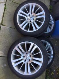 "Range Rover sport 20"" alloy wheels"