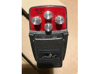 Chord RV-50 Digital Reverb pedal £50