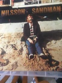 Harry Nilsson Nilsson Sandman Rare RS1015 First Pressing 1976 Vinyl Album