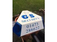 Security alarm box