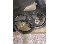 Kawasaki wheels (kxf kx) need gone asap