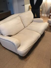 Laura Ashley pair of 2 seater large sofas