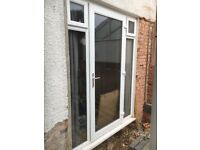 UPVC Double glazed external door (SOLD subject to collection)