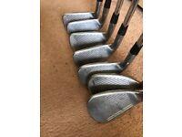 callaway x20 irons 4-pw 9iron is callaway x14 due to breakage