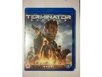 Terminator Genisys Blu ray - new