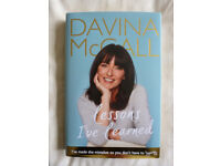 NEW SIGNED DAVINA MCCALL'S BIOGRAPHY 'LESSONS I'VE LEARNED