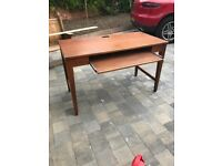 Solid wood computer desk from USA