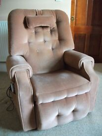 Adjustamatic Electric Riser Recliner Chair with massage