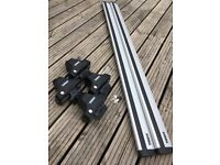 Thule Aero Roof Bars, 140 cm, for SUV or 4x4. Previously on Freelander 2.
