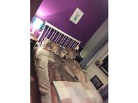 Kingsize bed with mattress £170 ONO