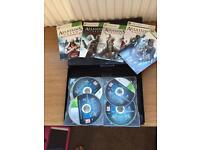 Xbox 360 assassins Creed anthology