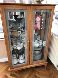 Solid drinks display cabinet reduced to £20