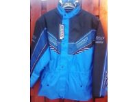 SPEEDWAY JACKET TOP OF RANGE BY SPADA BRAND NEW COST £85 ONLY £40 MEDIUM