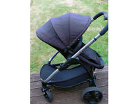 iCandy Strawberry 2 Black Stroller Combo
