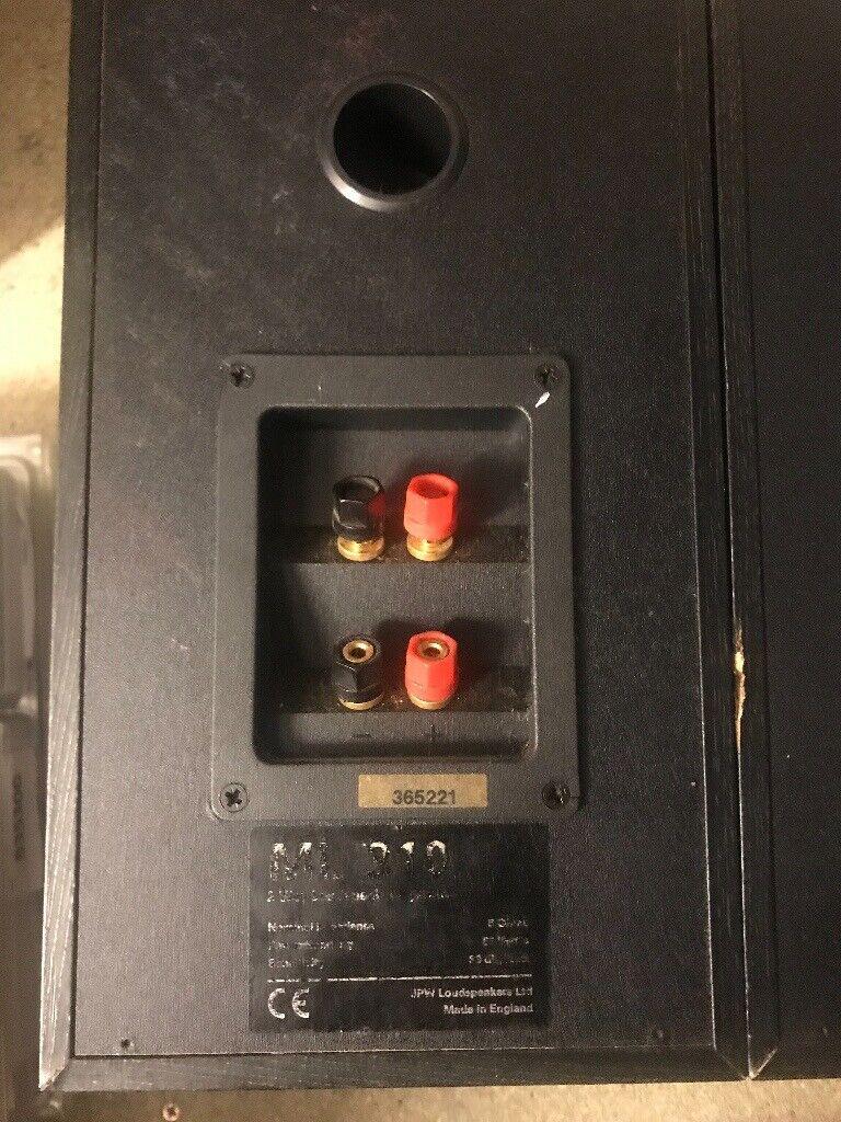 JPW Stereo Speakers ML310 - Used but work perfectly | in Ealing Broadway,  London | Gumtree
