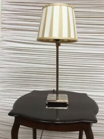 Chrome Table Lamp. Delicate, Refined, Details. Exquisite, French Chic in Chrome.