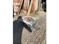 Rubi tile cutters and wet saw
