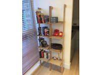 Habitat - Jessie oak narrow leaning bookshelf (brand new in box) - £75 each (2 available)