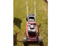 moutfield petrol 16inch / 41cm lawnmower