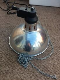 Heat Lamp for Poultry, Puppy/Kitten etc Good Working Order