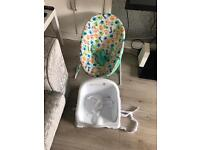 Baby bouncer and seat