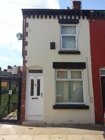 2 bedroom house to rent Gorst Street L4 0SB right next to Liverpool's Ground
