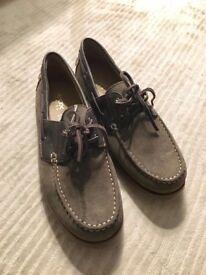 Geox men's deck shoes size 9