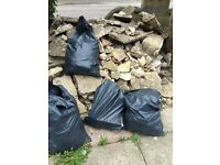 Free - Crazy paving, rubble and blocks