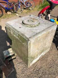Galvanized rivitted water tank