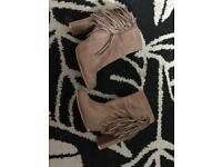 Inthestyle beige boots size 7