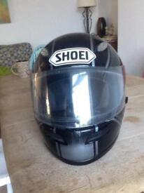 Shoei second hand crash helmet, no damage. Medium size.