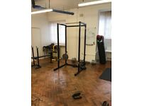 MiraFit Power Rack Weight Lifting Cage & Pull Up Bar