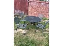 Lovely Garden Table & Chairs