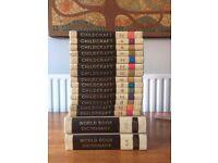 CHILDCRAFT BOOKS AND DICTIOARIES