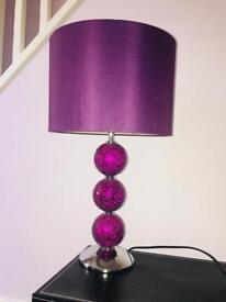 Purple lamp
