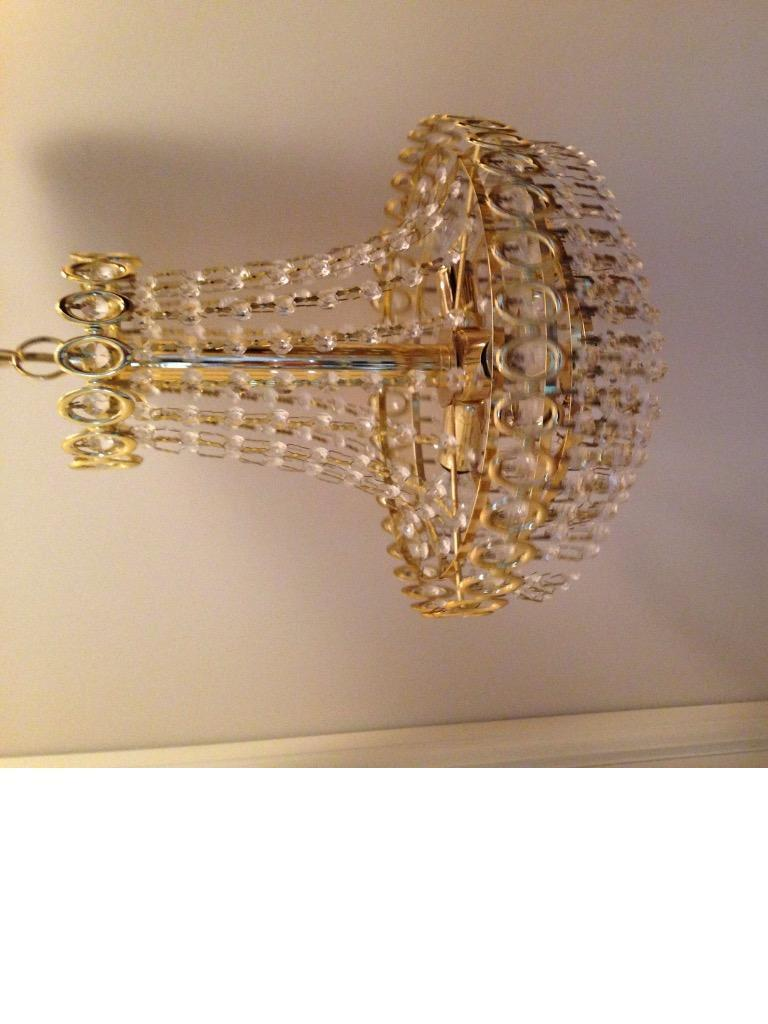 Ceiling Lights Gumtree Belfast : Gorgeous crystal light fitting in kirton lindsey