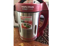 Soup maker - brand new in box Morphy Richards