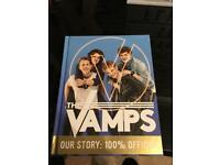 Signed vamps book