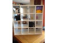 16 cube storage unit.