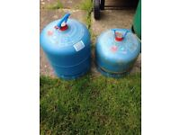 camping gas campingaz x2 2.72kg & 1.8kg both full and sealed