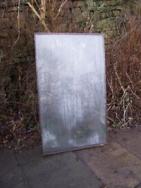 Glass for cold frame