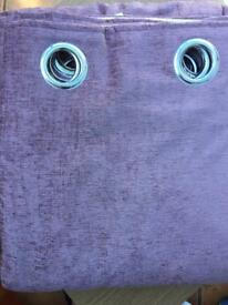 New Julian Charles eyelet chenille curtains