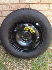 175/70R14 Dunlop Spare wheel