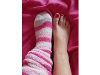 Well worn socks