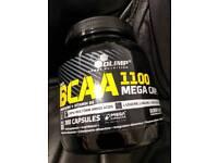 Olimp bcaa capsules protein supplement