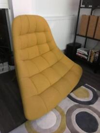 Made Yellow Kolton Chair - Repair Needed