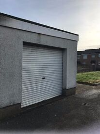 Brick built detached garage for sale
