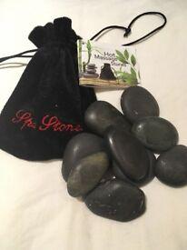 Hot Facial Massage Stone