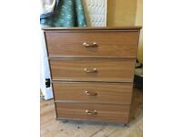 Chest of drawers £15