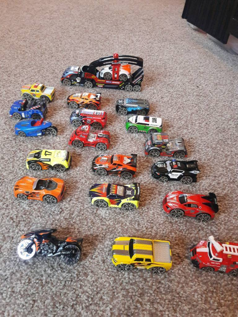Phat Wheels Toy Cars And Play Mat Great Condition In Salford - Phat cars